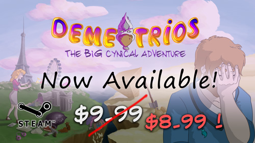 Demetrios is released on Steam