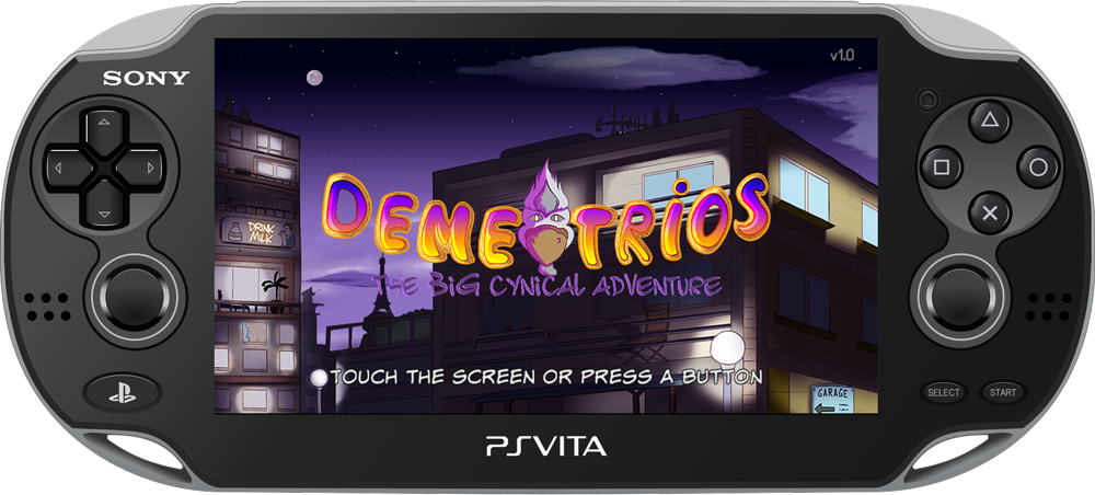 Demetrios on Playstation Vita